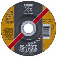 Pferd  E 125-7 A 30 P PSF Tisztítókorong