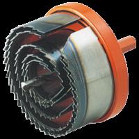 Wolfcraft lyukfűrész készlet 5 részes 28-75mm, Vágásmélység: 30 mm (2220)