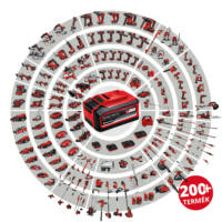 Einhell TE-CB 18/180 Li Solo Akkumulátoros Fúvó Akku és töltő nélkül (3408001)