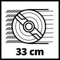 Einhell GE-CM 36/33 Li (2x2,5Ah) Akkumulátoros Fűnyíró (3413210)