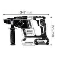 Bosch GBH 18V-26 Akkus Fúrókalapács, 18V, BL, SDS-Plus, 2.6J (0611909000)