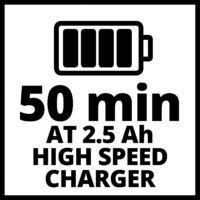 Einhell Power-X Change Twin Pack 18V 2 x 2,5Ah Akkumulátor (4511524)