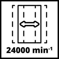 Einhell TC-OS 18/187 Li solo rezgőcsiszoló akku és töltő nélkül (4460725)