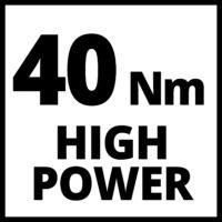 Einhell TE-CD 18/40 LI +69(1x2,5 Ah) akkus fúró-csavarozó (4513955)
