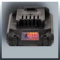 Einhell TC-CD 18-2 Li töltöttségi szint jelzővel