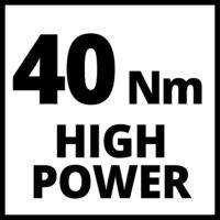 Einhell TE-CD 18/40 Li-Solo Akkumulátoros Fúró-csavarozó (4513925)