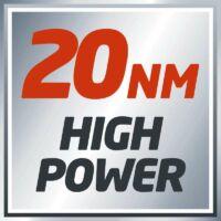 20 Nm-es teljesítménnyel