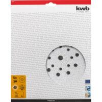 KWB csiszolópapír 225mm / P180 Premium 5db/cs TC-DW 225-höz (492168)