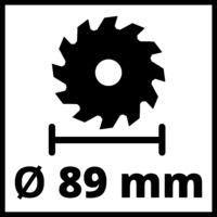 Einhell TC-CS 89 Mini Körfűrész (4331030)