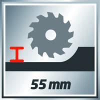 Einhell TE-CS 165 Kézi körfűrész (4331010)