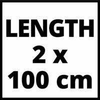 Einhell Vezetősín Alu 1000mm (4502118)