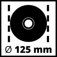 Einhell TE-AG 125/750 Sarokcsiszoló (4430880)