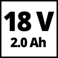 Einhell GC-CT 18/24 Li akkus szegélynyíró(1x2,0Ah) (3411125)