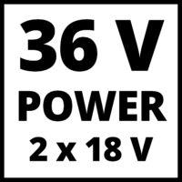 Einhell GE-CM 36/43 Li-M Solo Akkus fűnyíró (3413246)