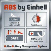 Einhell GE-CM 43 LI M Kit Gyors