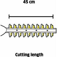Karcher HGE 18-45 Akkumulátoros Sövényvágó készlet 2.5Ah (1.444-231.0)