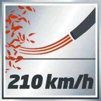 Akár 210 km/h-ás sebesség