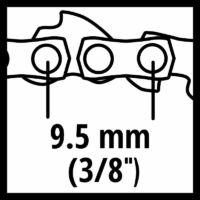 """Einhell GC-LC 18 Fűrészlánc 25cm 3/8"""" (4501754)"""