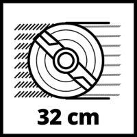 Einhell GC-EM 1032 elektromos fűnyíró 32cm, 1000W (3400257)