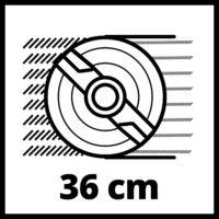 Einhell GE-CM 36/36 Li kit(2x4,0Ah) akkus fűnyíró (3413230)