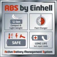 Einhell GE-CH 1855/1 LI Kit 1X2,0Ah Sövényvágó (3410503)