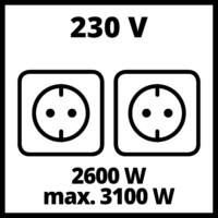 Einhell TC-PG 35/E5 Áramfejlesztő aggregátor (4152551)