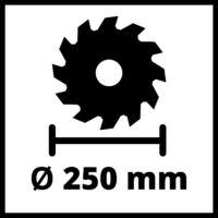 Einhell TC-TS 2025/3 ECO Asztali Körfűrész (4340495)