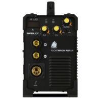 IWELD Gorilla PocketMig 205 ALUFLUX inverteres hegesztő + ajándék hegesztő kesztyű (80POCMIG205)