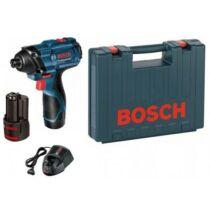 Bosch GDR 120-Li Akkus ütvecsavarozó 2 x 1,5 Ah kofferben (06019F0001)