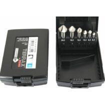 RUKO Terrax 6,3-20,5mm HSS Kúpsüllyesztő felsőmaró készlet 6db-os