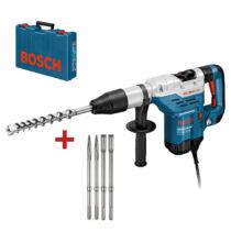 Bosch GBH 5-40 DCE, Fúrókalapács 1150W, SDS-max, 8,8J + 2-2db véső