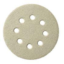 Csiszolópapír 125 mm K320 Tépőzáras Lyukas 5db/cs