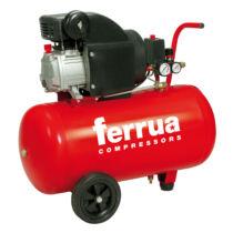Ferrua RC2/50 kompresszor, olajkenésű 1,5 kW, 230 V, 8 bar