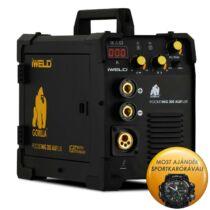 IWELD Gorilla PocketMig 205 ALUFLUX inverteres hegesztő + IWELD Sportóra