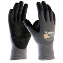 ATG Maxi Flex Plus tenyéren mártott precíziós védő/szerelő kesztyű Méret 7-12