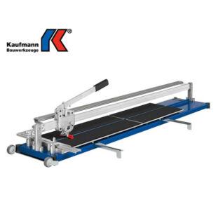 Kaufmann Csempevágó Gép 1250 mm Topline 2 vezető sínnel 10.833.05