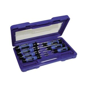 SKG Csavarhúzó készlet 7 részes, műanyag dobozban, SKG