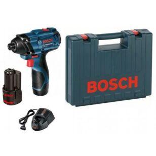 Bosch GDR 120-Li Akkus ütvecsavarozó 2 x 1,5 Ah kofferben