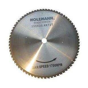 Holzmann Körfűrészlap, keményfém 355mm Z=72
