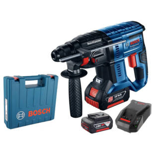 Bosch GBH 180-LI Akkus fúrókalapács 2 x 4.0Ah, SDS-Plus, 1.7J (0611911023)