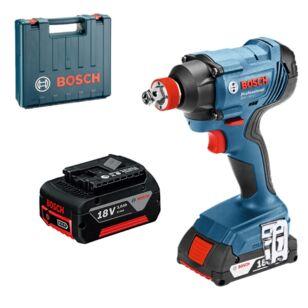 Bosch GDX 180-LI Akkus ütvecsavarozó 2 x 3,0Ah kofferben + Ajándék