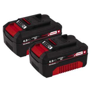 Einhell Akku Power-X 18V 2 x 4,0Ah Akkumulátor (4511489)