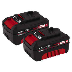 Einhell Akku Power-X 18V 2 x 4,0Ah (4511489)