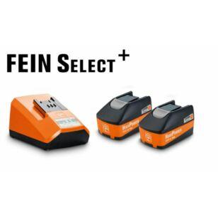 Fein Starter Set 2 x 5,2Ah + Gyorstöltő (92604307010)