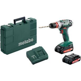 Metabo BS 18 Quick 2x2,0Ah Akkus Fúró Csavarozó (602217950)