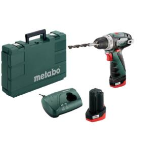 Metabo Powermaxx BS Basic 2x2,0Ah Akkus Fúró Csavarozó 34/17 Nm (600080950)