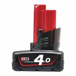 Milwaukee M12B4 12V/4Ah Li-ion akku (4932430065)
