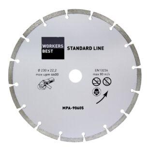 Gyémánt vágótárcsa 230 mm standard line