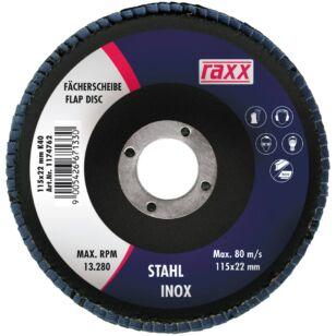Raxx Legyezőtárcsa 115x22mm K40