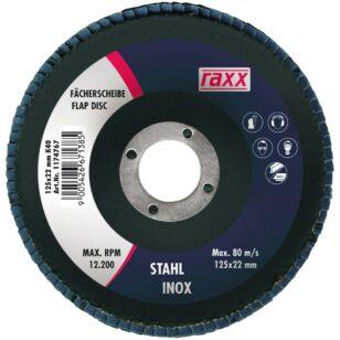 Raxx Legyezőtárcsa 125x22mm K40